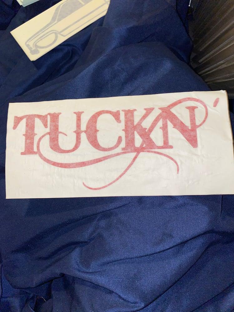 Image of Sticker Tuckn'