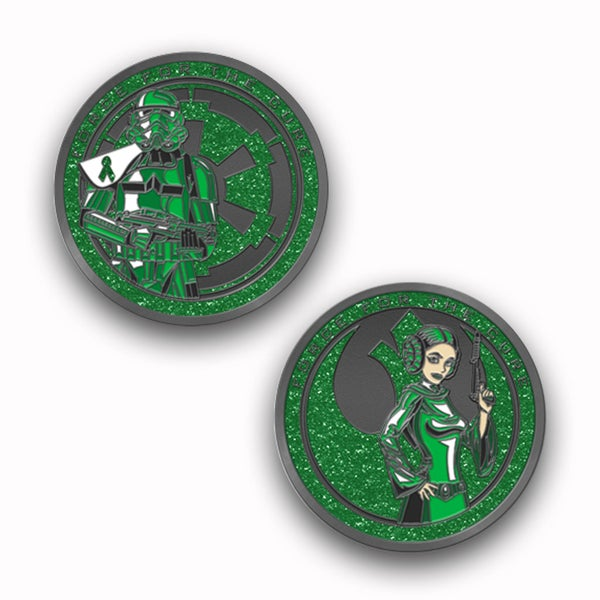 Image of Force For The Cure: Mental Health Awareness Challenge Coin