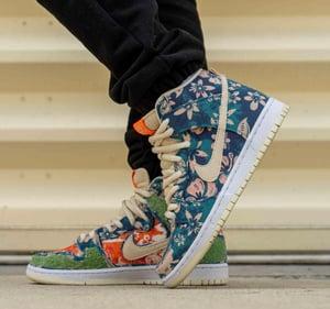 """Image of Nike sb Dunk  high """"Hawaii"""""""
