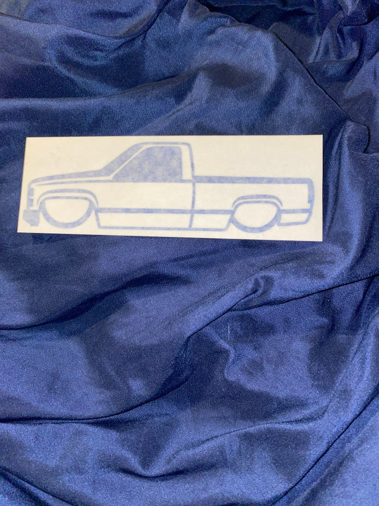 Image of Sticker Obs single cab