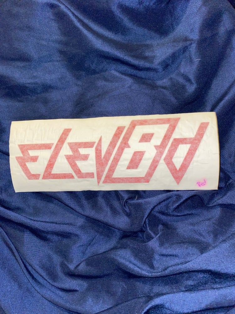 Image of Sticker Elev8d