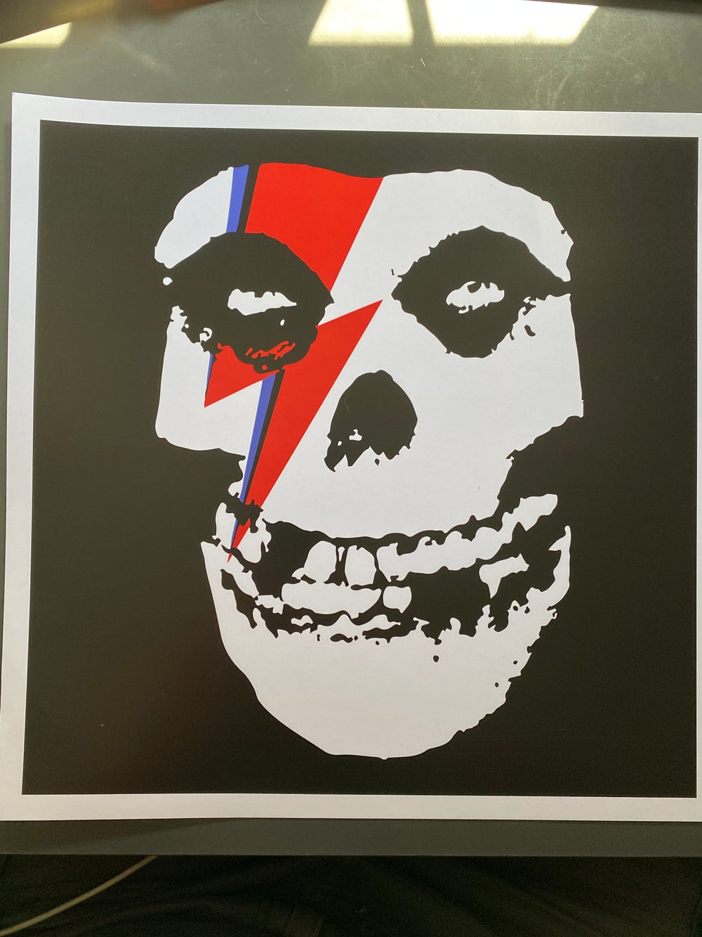 Bowiefits - Heavy Weight Art Print