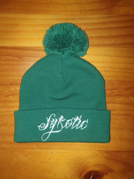 Image of Pom Pom Beanie (Green)