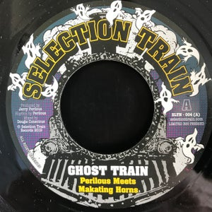 "Image of Perilous Meets Makating Horns - 'Ghost Train/Duppy Town' (Limited edition UK 7"" vinyl )"