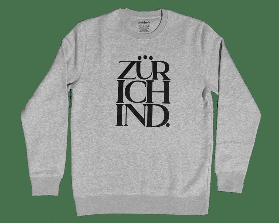 Image of ZÜRICHIND classic - Sweater grau