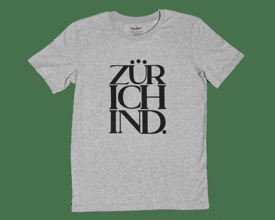 Image of ZÜRICHIND classic - T-Shirt grau