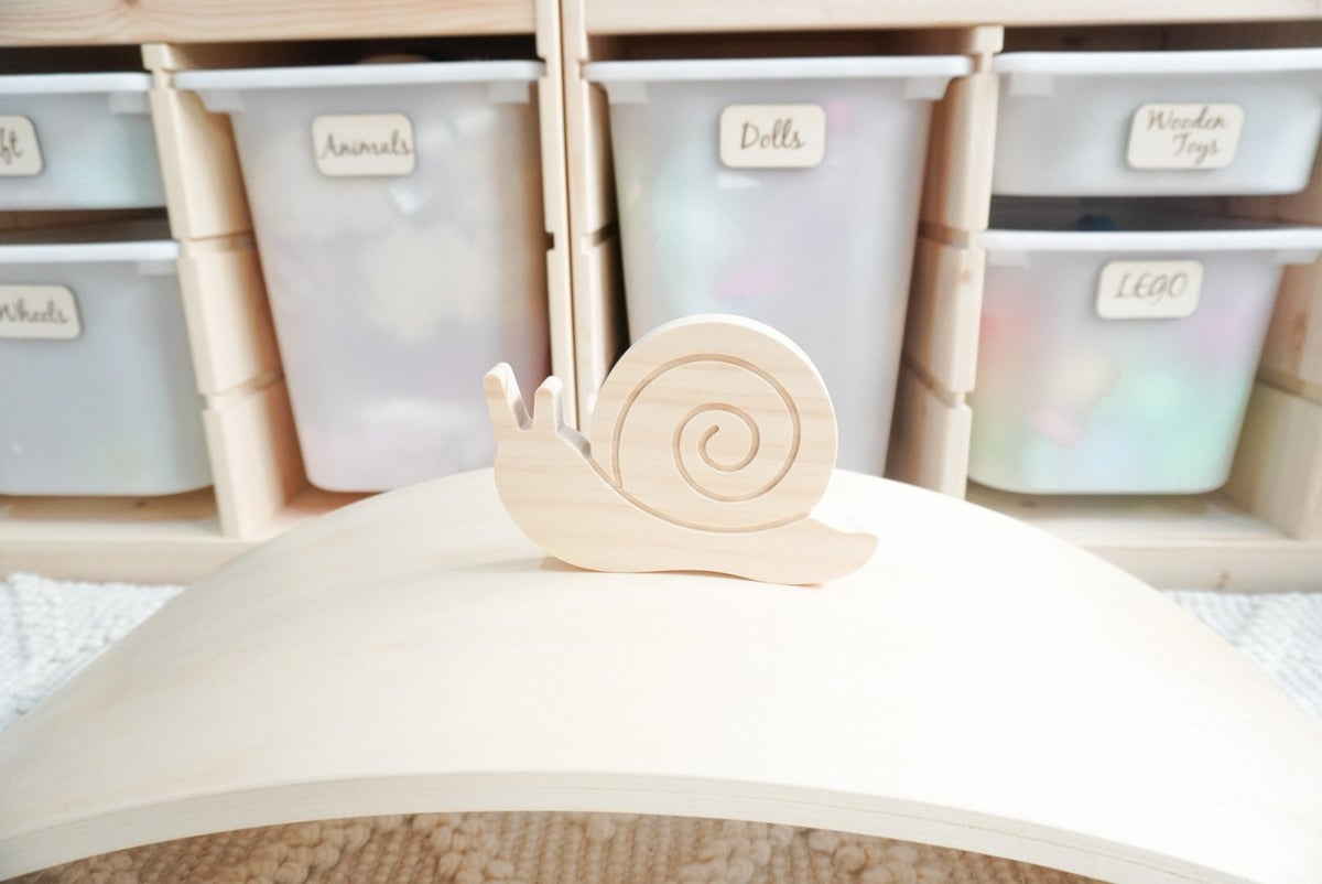 Image of Wooden Snails