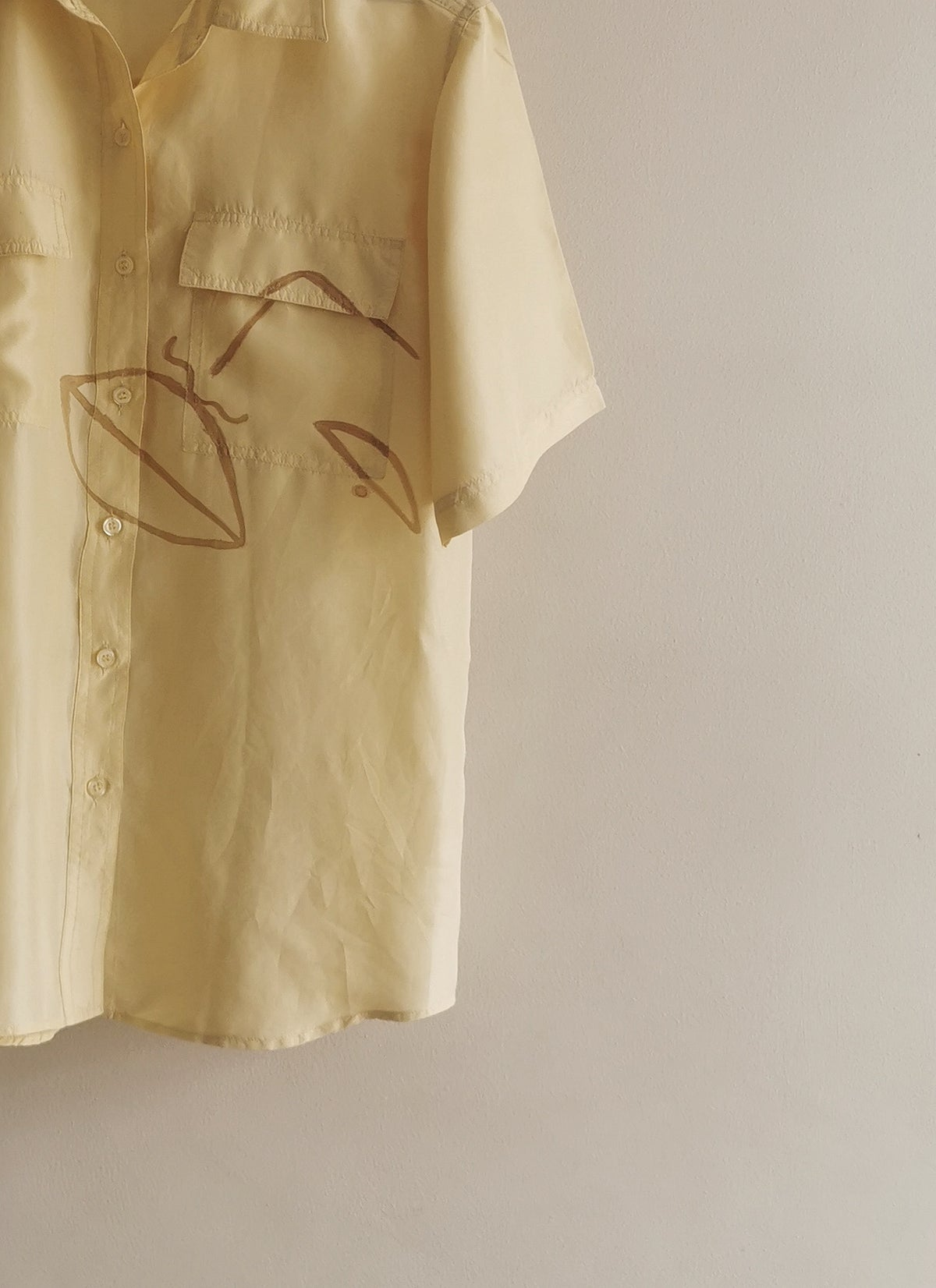 Image of yolo gold blouse