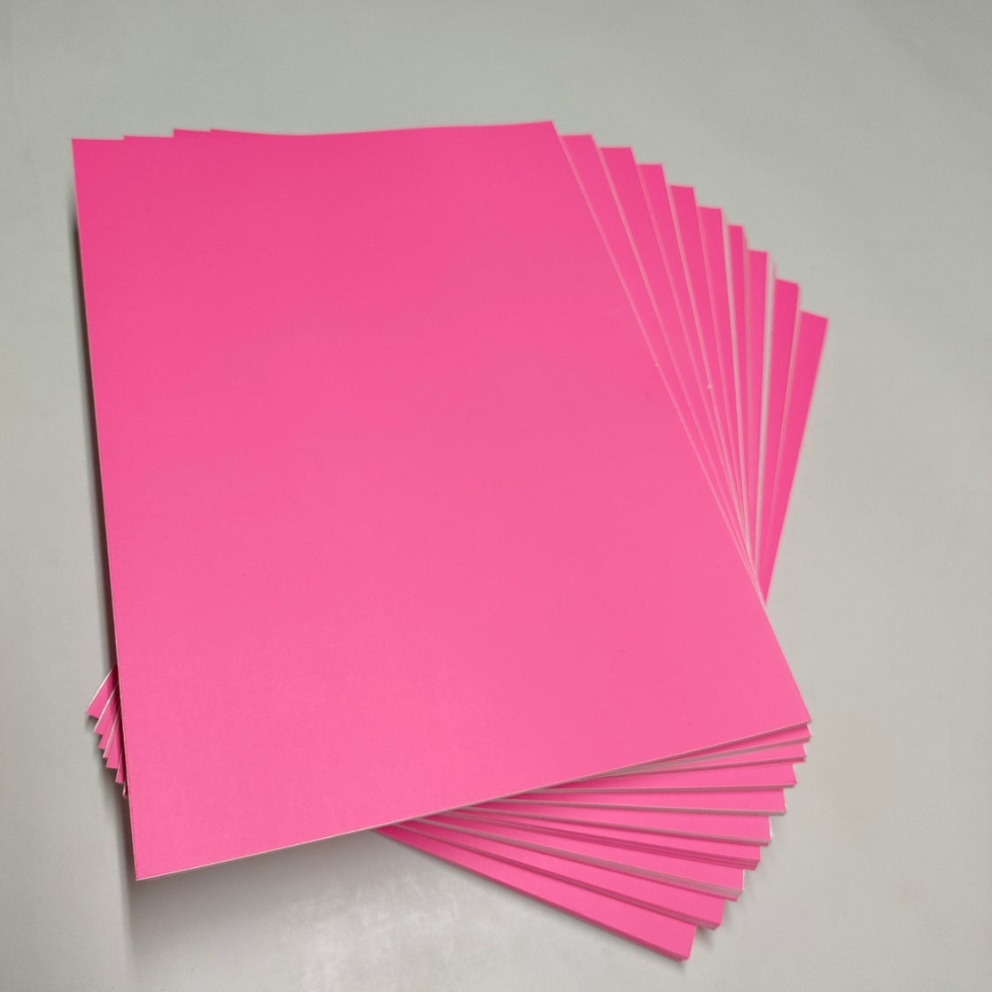 Image of Free Shipping Fluorescent Pink A4 Eggshell Sticker Papers 150sheets