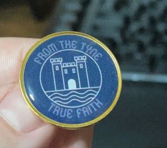 Image of From The Tyne - Pin Badge