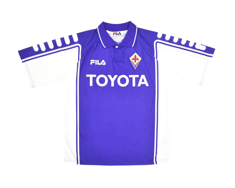 Image of 1999-00 Fila Fiorentina Home Shirt 'Batistuta 9' L