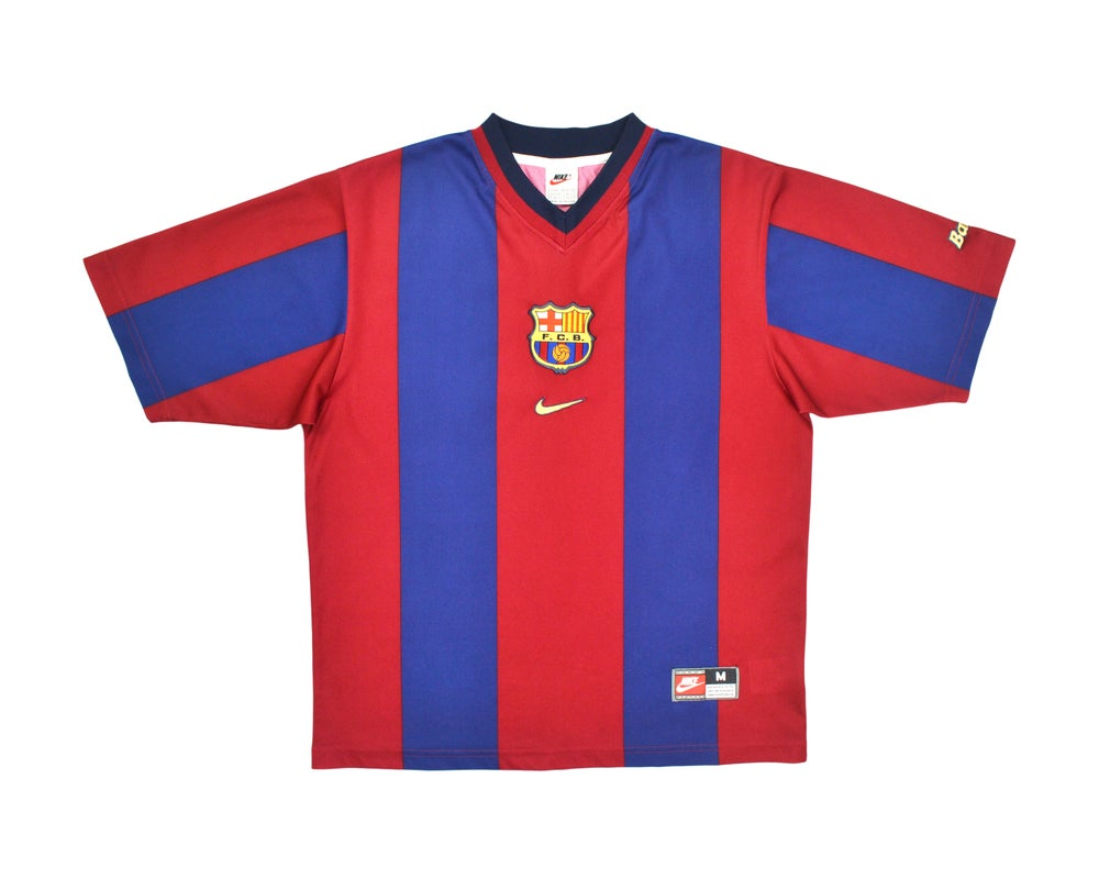 Image of 1998-00 Nike Barcelona Home Shirt M