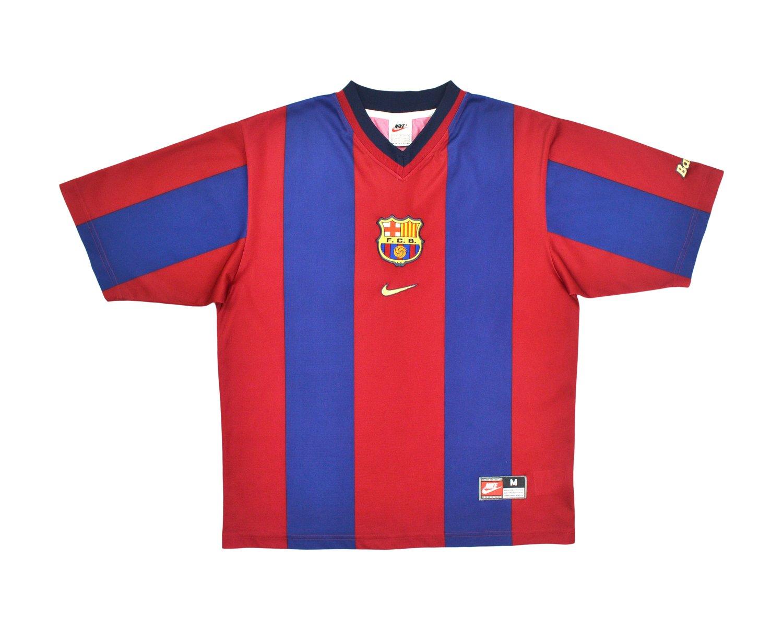Image of 1998-00 Nike Barcelona Home Shirt M