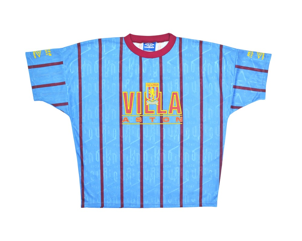 Image of 1991-93 Aston Villa Umbro Training Shirt XL