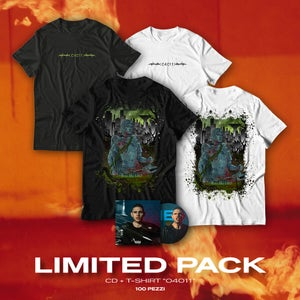 Image of LIMITED PACK   Cd + T-Shirt