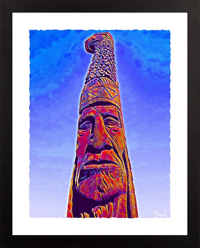 Totem Pole, Bethany Beach DE Giclée Art Print - (Multi-Size Options)