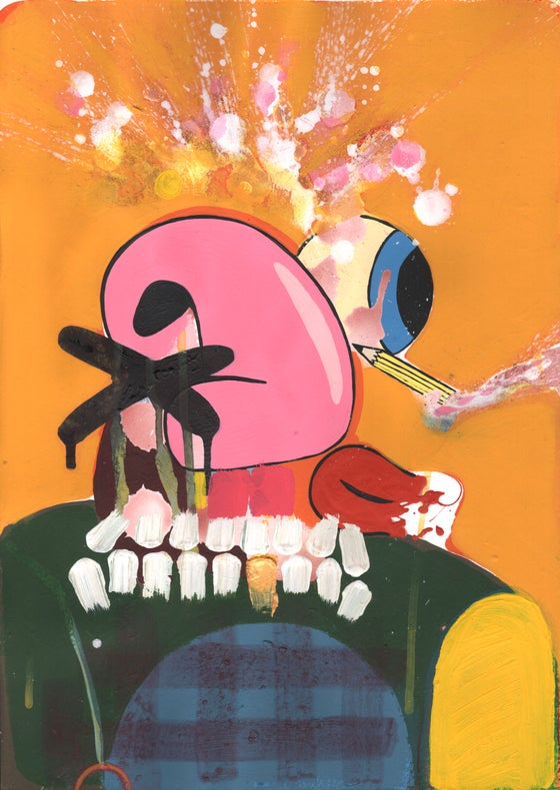 Image of Exploding Head (Blabber-Twit)