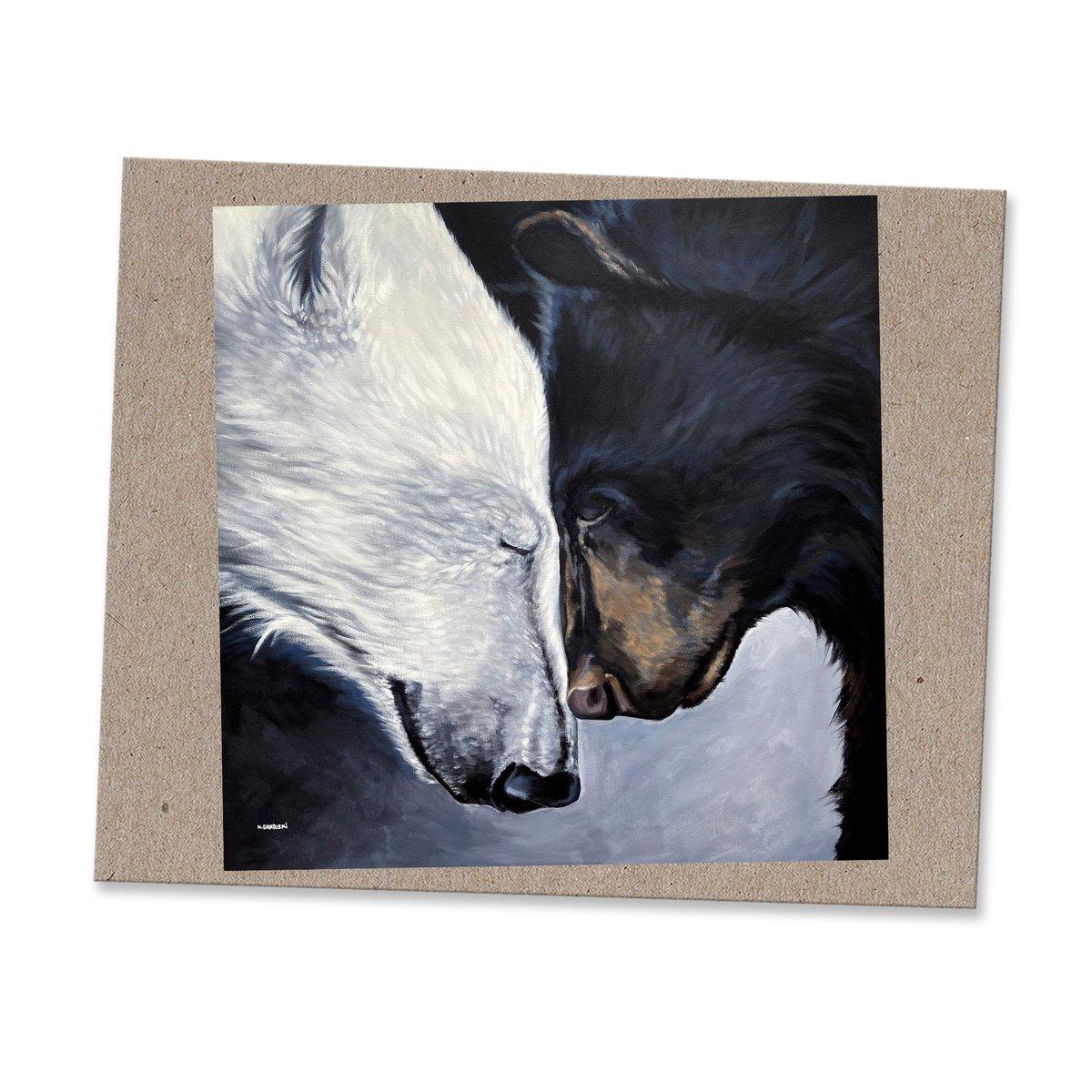 Image of 2 BEARS print