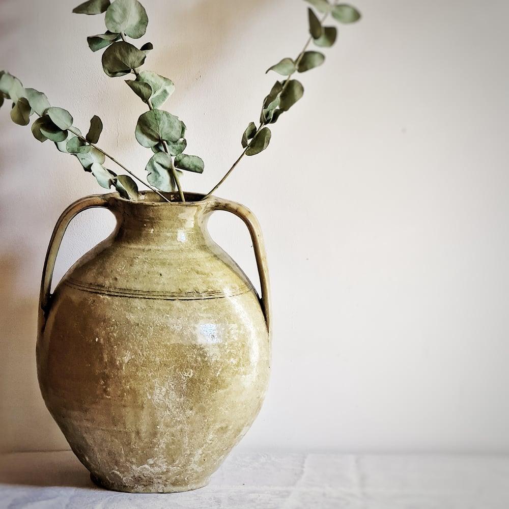 Superbe ancien vase à anses urne amphore XIXème