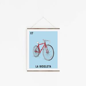 Image of La Bicicleta Print