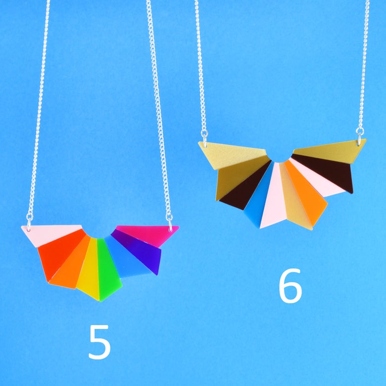 Image of Starburst Necklaces 5 and 6