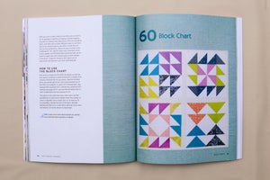 Image of Patchwork Essentials: The Half-Square Triangle Book - Signed