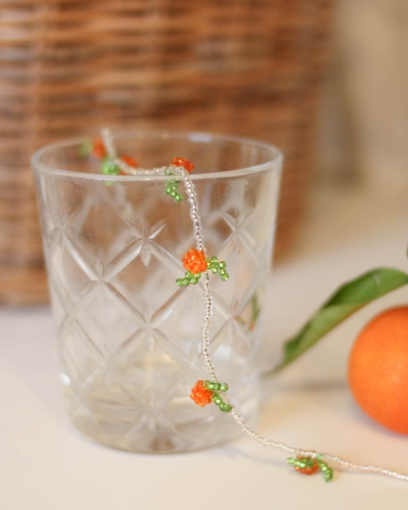 Image of Orange choker