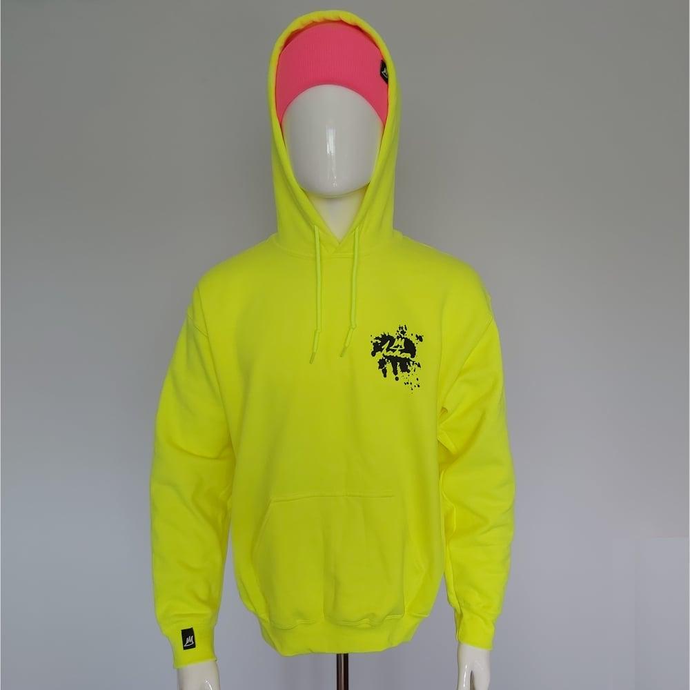 Image of Splash Hood - Neon Yellow