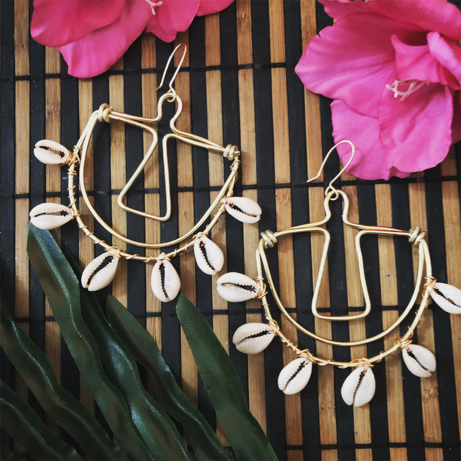 Image of Goddess of Balance Statement earrings