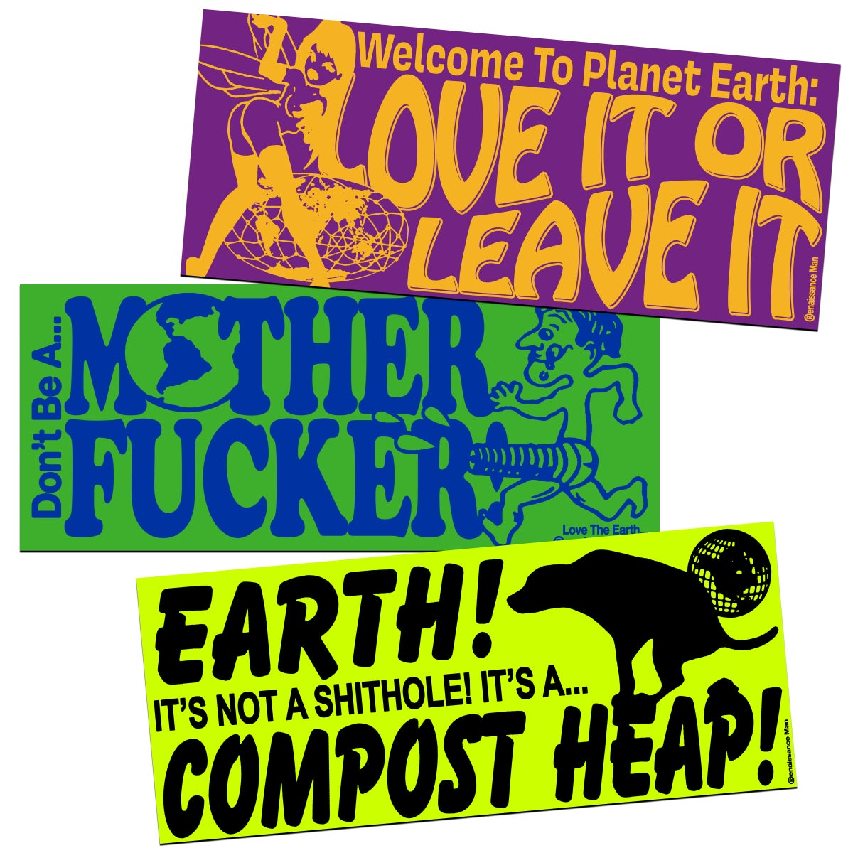EARTH DAY '21 STICKER PACK