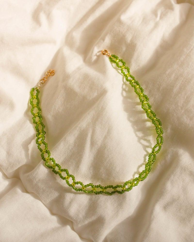 Image of Bimba choker vert