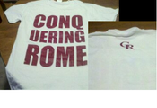 Image of Conquering Rome white Tee