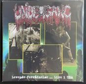 Image of UNDERGANG 'levende ... live in USA' lp