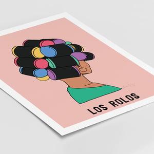 Image of Los Rolos Print