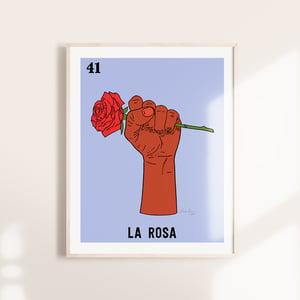 Image of La Rosa Print