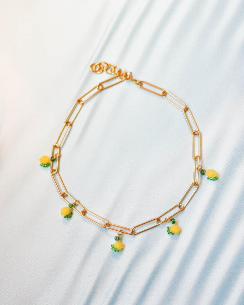 Image of Lemon chain choker