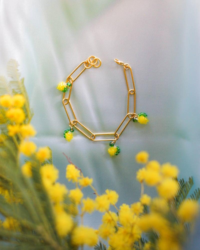 Image of Lemon chain bracelet