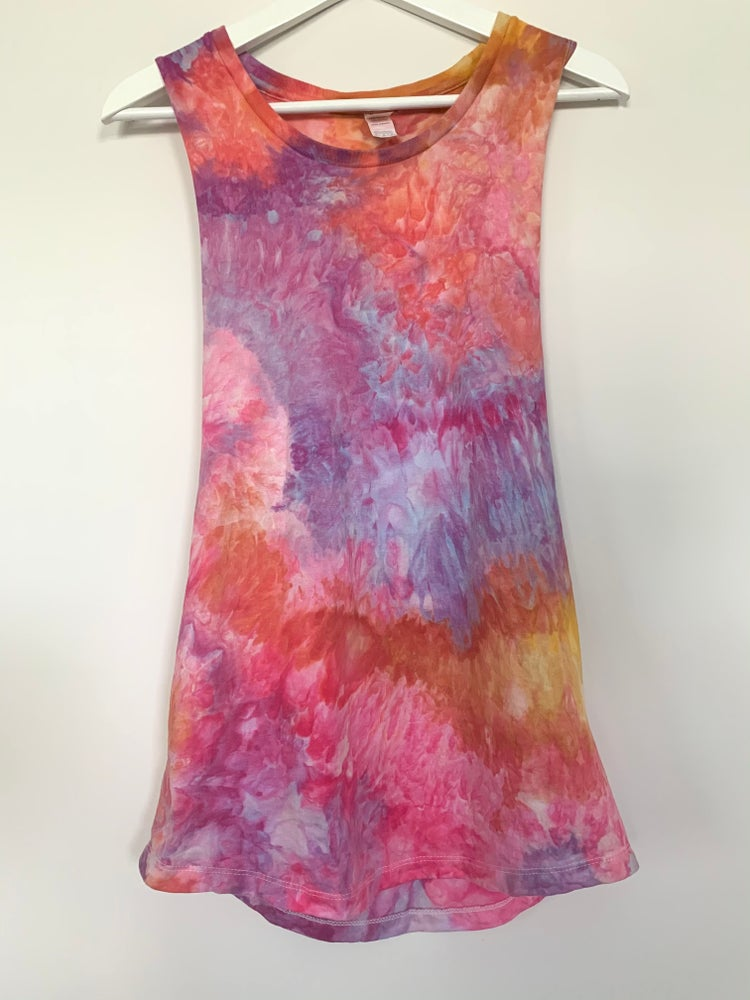 Image of Tie Dye Women's Medium (Orange Dusk)