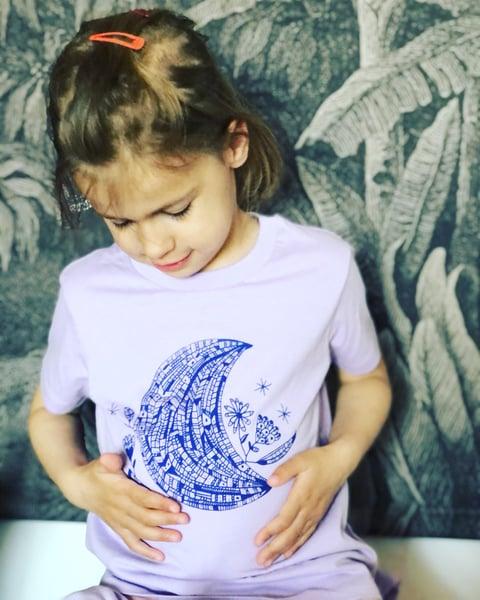 Image of Kids teeshirt *Lovely Moon*