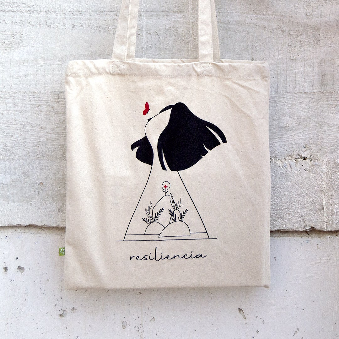 "Tote bag ""Resiliencia"""