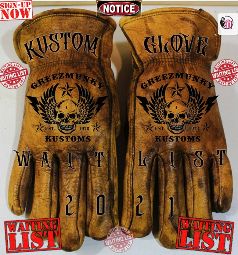 Image of Custom Glove Waiting List