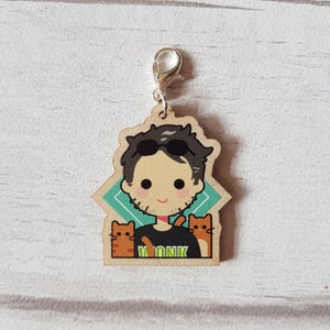 Image of Steve Firth Wooden Charm