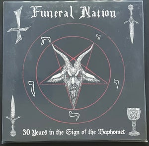 Image of FUNERAL NATION '30 years in the sign of the baphomet' 3lp