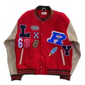 Image of Red Varsity Jacket (Site Exclusive)