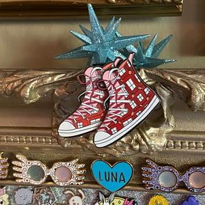LOST Red Raddish Shoe