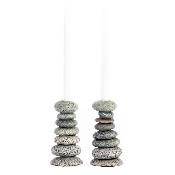 Image of Cairn Candlestick Holder