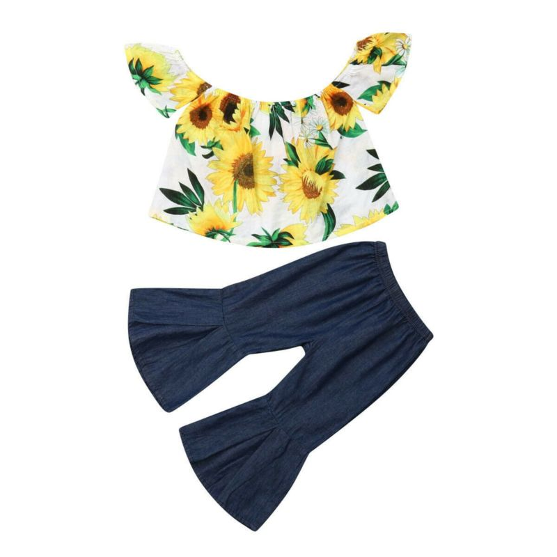 Sunflowers and Bell Bottoms