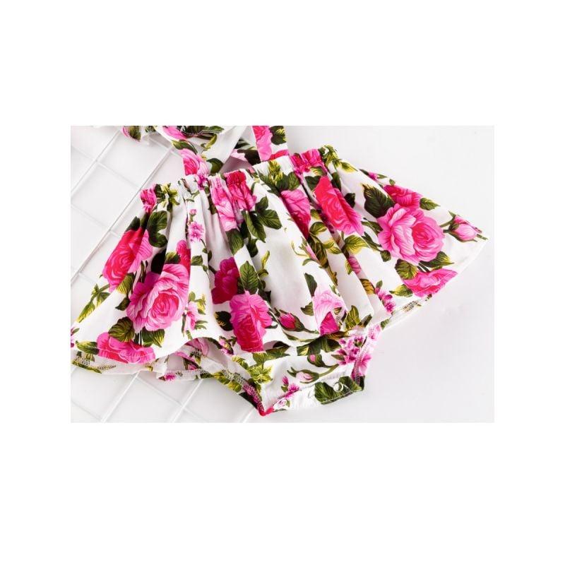 Flower Power Romper w/Headband
