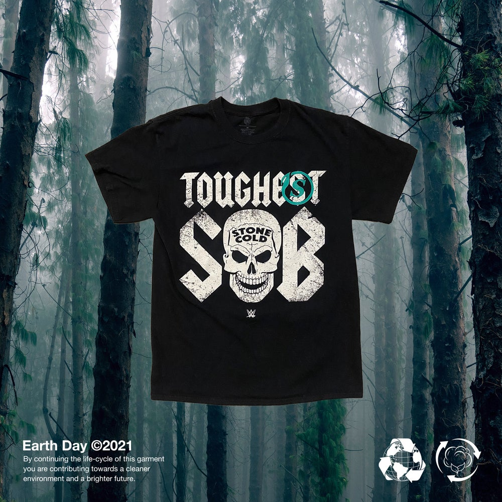 Image of Up-cycled Stone Cold tee