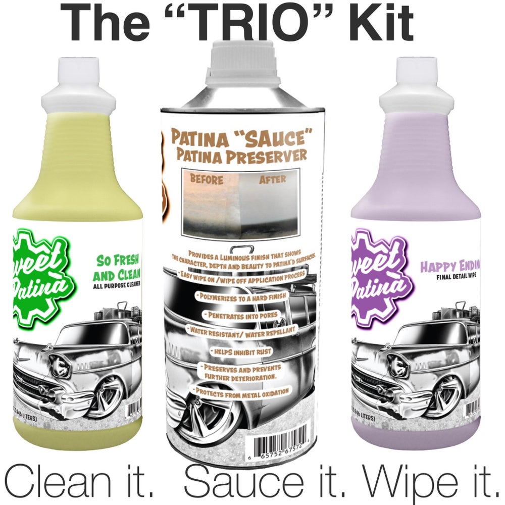 "Image of The ""Trio"" Patina Care Kit"